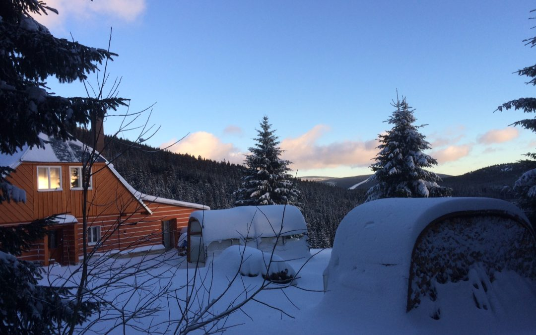 Sezóna 2017 se sněhem 50cm zahájena
