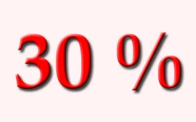 Akce sleva 30 % na ubytování červenec  2016 od 1.7.2016 do 28.7.2016